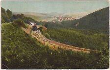 HARZQUER UND BROCKENBAHN - HASSERODE - FERROVIA E TRENO (GERMANIA) 1904