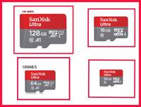 SanDisk micro SD Card 128gb  64GB 32GB  100mb/s TF usb flash memory card