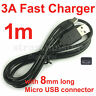 5V 2A 18AWG D+ D-Fast Charge Only 5Pin Micro USB Charger Cable Cord for Android