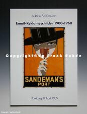- Katalog Email-Reklameschilder Aril Drouven 4/1989 -