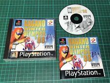 Nagano Winter Olympics 98 für Sony Playstation 1, ps1, komplett mit Handbuch
