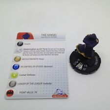 Heroclix The Brave and the Bold set The Sensei #026 Uncommon figure w/card!