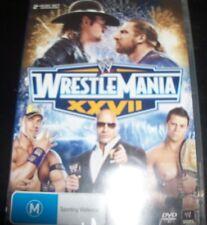 WrestleMania XXVI – John Cena Alberto Del Rio (Australia Region 4) DVD – New