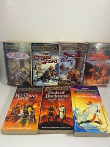 7 BOOKS Forgotten Realms BOOK LOT