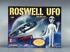 "Lindberg 1/48 Scale Roswell UFO With Alien Crew. NEW. SEALED.  ""RETIRED"""