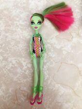 """Monster High 11"""" Doll VENUS MCFLYTRAPP GLOOM BEACH BEASTIES 2011 Swim"""