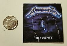 Miniature record albums Barbie Gi Joe 1/6  Playscale  Metallica Ride Lightning