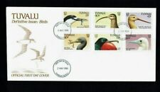Tuvalu: 1988 Birds definitive, complete set on 3 first day covers.