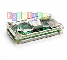 Many Color Acrylic Case With HeatSink for Raspberry PI Zero & w Wifi