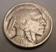 "1927 P INDIAN HEAD ""BUFFALO"" NICKEL  **FREE SHIPPING**"