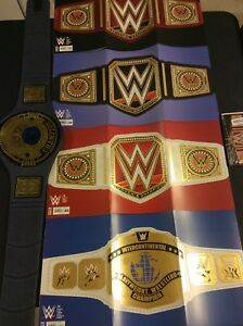 WWE #1 2 3 4 CHAMPIONSHIP BELT FOIL PARTY RAW WOMENS VARIANT Comic Book Boom