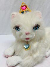 Barbie Serafina Cat Persian Electronic Princess Pauper Moves Talks WORKS Mattel