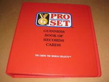 Guinness World Records Trading Card Binder Album