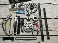Timing Chain Kit For Nissan Almera Primera X-Trail 2.2 DI DCI 20 piece YD22DDT
