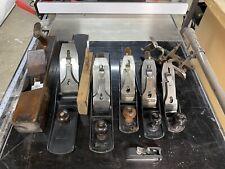 New ListingStanley Hand Plane Collection, No 8C, No 6, 2x No5, No 3, No 50, Shoulder Chisel