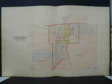 Ohio, Preble County 1912 Map City of Gratis Platted as Winchester L19#03