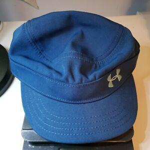 Under Armour Womens OSFA Hat Blue HeatGear Running Activity