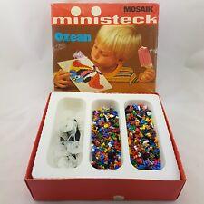 Ministeck Mosaik Steck Spiel Ozean 80ern 1980 retro vintage