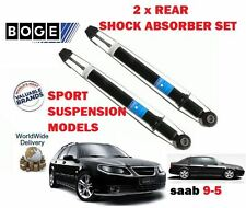 FOR SAAB 9-5 95 1997-2009 NEW 2 x REAR LEFT + RIGHT SHOCK ABSORBER SHOCKER SET