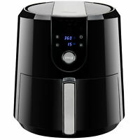 XL Digital Air Fryer 5.8QT/5.5L 1800W Temp/Timer Settings & 7 Cooking Presets