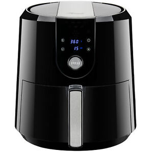 XL Digital Air Fryer 5.8QT/5.5L 1800W Temp/Timer Settings & 7 Cooking Presets