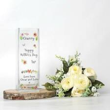 Personalised Printed Vase - Mother's Day, Mum Gift, Nanna Gift (Thank You)