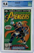 Avengers # 196 CGC 9.4 White Pages -1st Appearance of Taskmaster