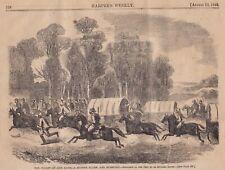 1865 Five Engravings - Jefferson Davis in flight - Capture - Conspirators Trial