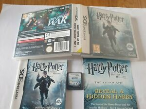 Harry Potter and the Deathly Hallows Part 1 Nintendo DS Game Complete