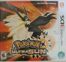 Pokemon Ultra Sun Nintendo 3ds Games