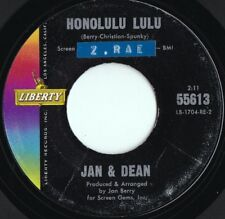 Jan & Dean ORIG US 45 Honolulu Lulu EX '63 Liberty 55613 Surf Rock Pop