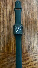 Apple Watch Series 3, 38mm, GPS, Black Sport Band, Pristine Condition