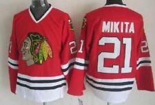 Blackhawks Red Jersey Stan Mikita size LARGE
