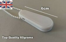 4x Chain Weights for Vertical and Roller Blinds White Colour