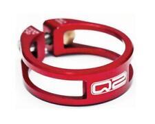 Q2 Elite Seatpost Clamp Red 34.9mm Bike