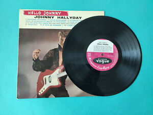 Johnny Hallyday Hello Johnny Rare Orig LP 25 cm 1960 EX