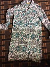 Roberta Roller Rabbit Shirt Dress Womens XSmall  Tunic Cotton