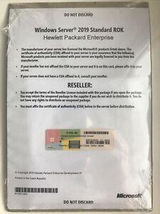 HP P11418-001 ROK Microsoft Windows Server 2019 Standard Option Kit Eng 16-Core