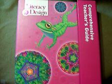 Rigby's Comprehensive Teacher Guide Kit Grade K by Literacy Design BRAND NEW!