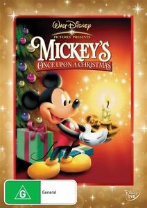 Mickey's Mouse Once Upon a Christmas DVD Brand New Disney