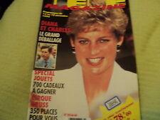 """""""TELE MAGAZINE N°2036 - 1994"""" Lady DI Sylvie VARTAN Jane SEYMOUR Julio IGLESIAS"""