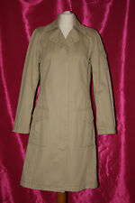 H&M beige spring light  coat jacket size 10