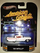 Hotwheels  RETRO ENTERTAINMENT  American Graffiti   58' Impala