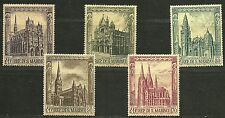 "SAN MARINO 1967 Very Fine Mint NH Stamps Set Scott# 671-675 ""Cathedrals """