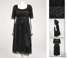 NEW!  Zaftique GALA DRESS Black (Last One!)  2Z / 20 22 / 2X