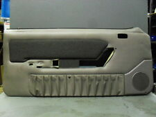 1987-1993 Ford Mustang Grey Driver Side Door Panel Power Windows NOS LH