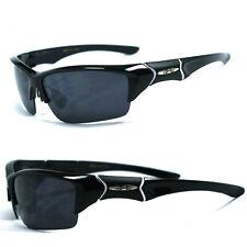 New Xloop Sports Sunglasses - Black Frame Black Lens X45