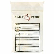 """Fireproof/Fire Resistant Envelope Bag (15""""x11"""") for Money/Documents/Jewelry/Etc."""