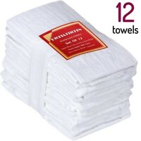 White Towels For Crafts Cheese Making Flour Sack Towel Set Kitchen Diaper Cloth