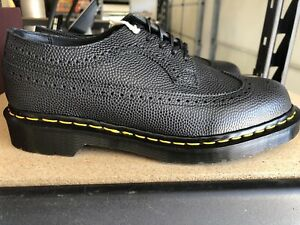 Dr Marten 3989 Vintage Made In England Brogue Pebble Shoe Size 5